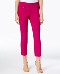Alfani Skinny Pull On Capri Pants Only At Macy's Modern Orchid