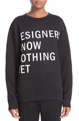 Dkny Women's 'Runway' Graphic Print Sweatshirt