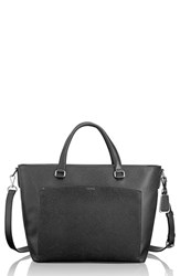 Tumi 'Camila' Canvas Tote Black