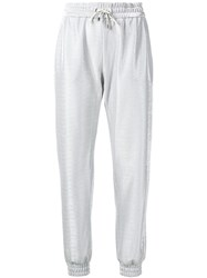 Pinko Tapered Track Trousers Grey