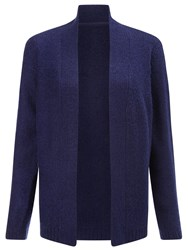 Dash Iris Knit Cardigan Purple