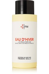 Frederic Malle L'eau D'hiver Body Milk Colorless