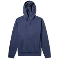 Martine Rose Embroidered Logo Popover Hoody Blue