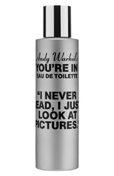 Comme Des Garcons Andy Warhol You're In Unisex Eau De Toilette I Never Read