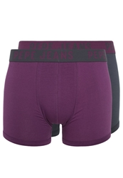 Pepe Jeans Brody 2 Pack Shorts Mulberry Navy Purple