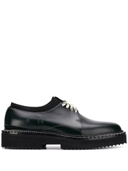 Oamc Ridged Sole Derby Shoes Black