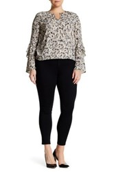 Jessica Simpson Kiss Me Super Skinny Jean Plus Size Black