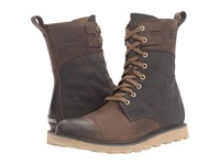 Sorel Madson Tall Lace Cordovan Men's Waterproof Boots Burgundy