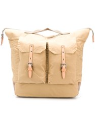 Ally Capellino Large Frank Backpack Neutrals