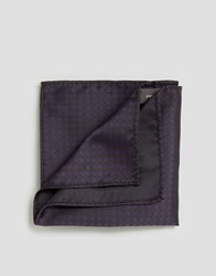 French Connection Conection Pocket Square Purple