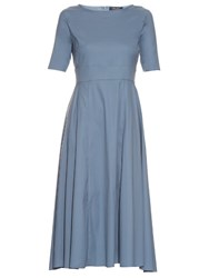 Max Mara Adorno Dress Light Blue