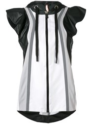 No Ka' Oi Moe Hooded Sports Jacket Women Polyamide Polyester Spandex Elastane S Black
