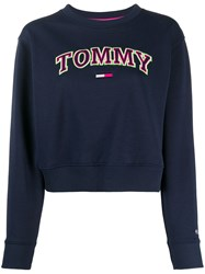 Tommy Jeans Relaxed Fit Neon Logo Sweatshirt 60