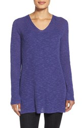 Women's Eileen Fisher V Neck Organic Linen And Cotton Tunic