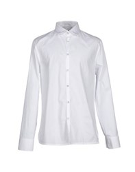 Dirk Bikkembergs Sport Couture Shirts Shirts Men White