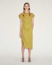 Rachel Comey Studio Dress Chartreuse