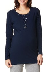 Noppies Women's Amber Henley Maternity Nursing Tee
