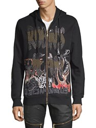 Robin's Jean Wolves Among Us Cotton Hoodie Black