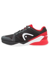 Head Revolt Pro 2.0 Claycourt Outdoor Tennis Shoes Raven Red Black