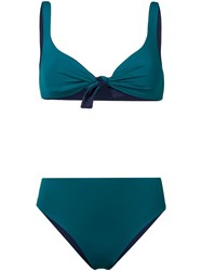 Fisico Two Piece Bikini Set Green