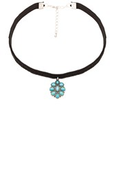Child Of Wild Electric Daze Navajo Choker Turquoise