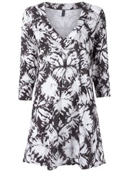 Lygia And Nanny Printed Tunic Women Polyester 44 Blue