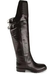 Marc By Marc Jacobs Padded Knee High Boots Black