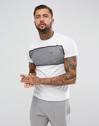 Voi Jeans Ford Panel T Shirt White