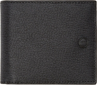 Kenzo Black Textured Leather Bifold Wallet