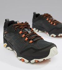 Merrell Moab Gore Tex Hiking Festival Trainers In Black