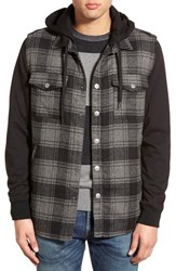Men's Rvca 'Grunge' Regular Fit Hooded Jacket