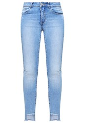Vila Vicommit Slim Fit Jeans Light Blue Denim Light Blue Denim