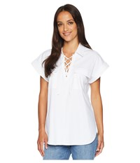 Lysse Clio Pop Over Top White Clothing