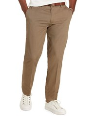 Polo Ralph Lauren Classic Fit Stretch Twill Pants Brown