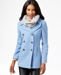 Calvin Klein Wool Cashmere Blend Peacoat