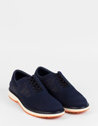 Swims Barry Oxford Knit Navy Orange