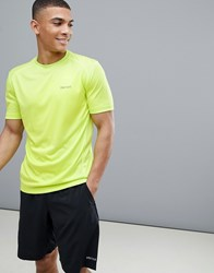 Marmot Active Windridge Ss Running T Shirt In Bright Lime Bright Lime Yellow