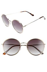 Seafolly Coogee 54Mm Round Sunglasses Gold