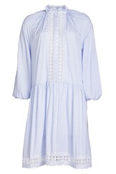 Zimmermann Lace And Embroidery Dress In Cotton