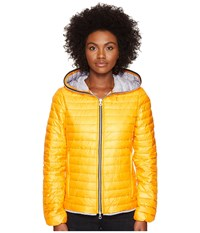 Duvetica Eeria Full Zip Hoodie Zucca Women's Coat Orange