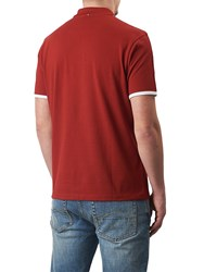 Pretty Green Tilby Moon Polo Shirt Red