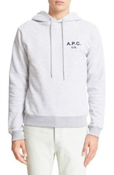 A.P.C. Men's Logo Graphic Pullover Hoodie