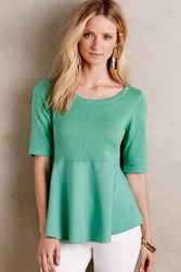 Moth Meri Skirted Pullover Green