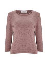 Precis Petite Donna Tape Yarn Jumper Neutral