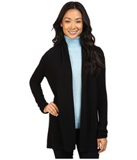 Pendleton Petite Josephine Cardigan Black Women's Sweater
