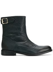 Paul Smith Thunder Boots Leather Blue
