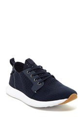 Steve Madden Chyll Perforated Sneaker Navy