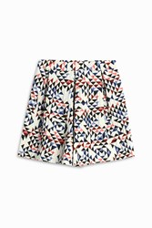Paul And Joe Sister Geometric Culotte Shorts Multi