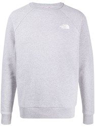 The North Face Branded Sweatshirt Grey
