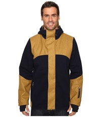 Dale Of Norway Stryn Jacket Navy Mustard Men's Coat
